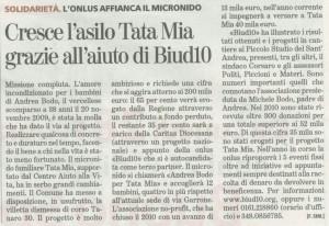 Articolo uscito su La Stampa del 27-02-2011