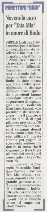 Articolo uscito su Notizia Oggi del 5 Dicembre 2011
