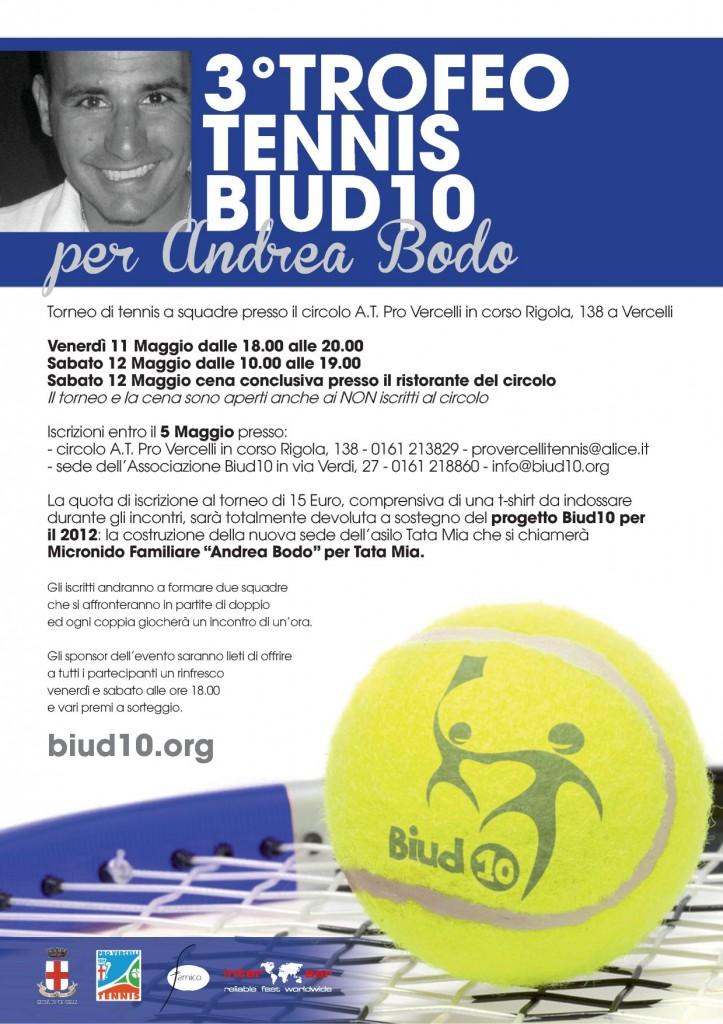 Trofeo di Tennis 2012