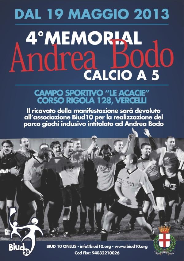 IV° MEMORIAL ANDREA BODO